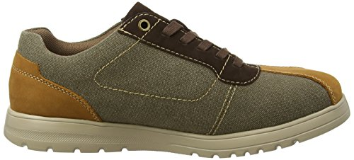 Padders Rewind, Chaussures à Lacets Homme Brown (Brown Combi)