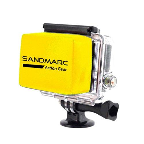 SANDMARC® Floaty - Schwimmende Zubehör für GoPro Hero 4 , 3+ und 3 Kameras (Camcorder) - für Surfen, Tauchen, Schnorcheln, Schwimmen, Kajakfahren, Jet-Ski und Unterwasser- Aktivitäten - Lebenszeit-Garantie