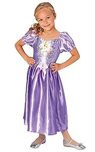 Rubies Disfraz clásico de princesa Disney con lentejuelas, talla pequeña para niños de 5 a 6 años, altura 116 cm