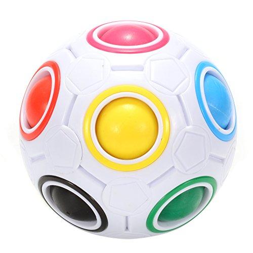 Playworld Magic Ball 3D Puzzle Ball Regenbogen Ball Druck entlasten Cube Spielzeug Geschenk für Kinder Jungs Erwachsene
