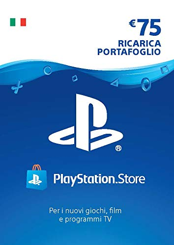 PlayStation Network PSN Card 75€ | Codice download per PSN - Account italiano