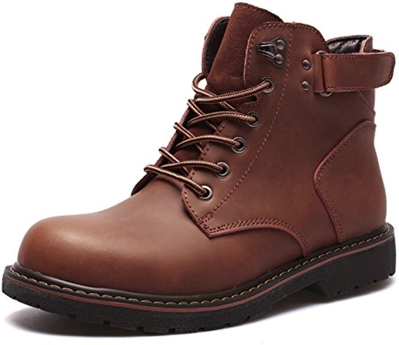 HL-PYL-el nuevo Martin botas botas botas altas botas para botas cortas,44,Brown