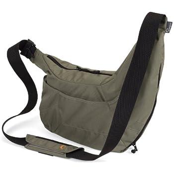 Lowepro Passport Sling SLR-Kameratasche (für SLR mit angesetztem Objektiv und 1 weiteres Objektiv oder Blitzgerät) khaki braun