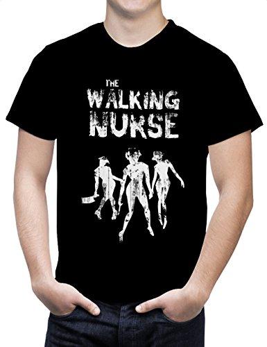 Camiseta The walking nurse (Hombre) (S a XL)
