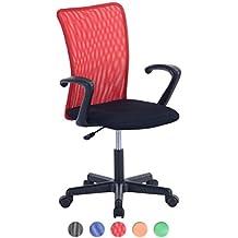 Amazonfr Chaise Bureau Enfant Rouge