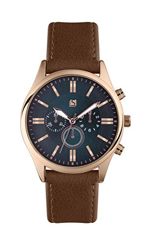 Spirit Mens Analogue Classic Quartz Watch with PU Strap ASPG17 Best Price and Cheapest