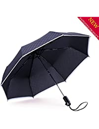 AIGUMI innovadora al aire libre de la reversión paraguas plegado automático puede estar en posición vertical
