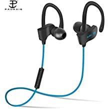 Padraig Redmi 4 Compatible Wireless Bluetooth Jogger QC-10 Headphones with Mic for Running, Sweatproof Earphones,Noise Cancelling Headsets
