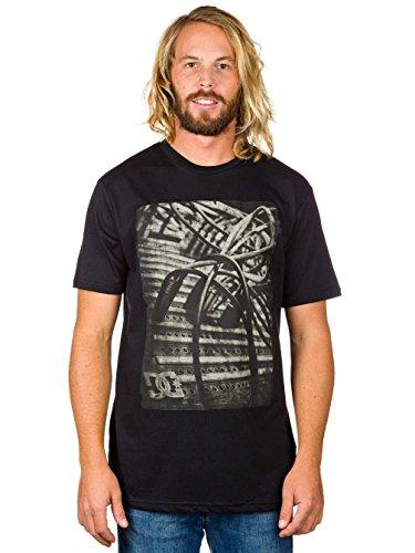 DC T-Shirt Remix IT Schwarz Schwarz