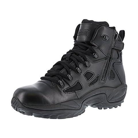 Reebok Tactical Rapid Response Side Zip Boots - Black, Size 8