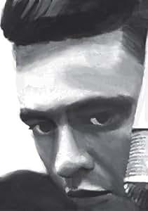 Johnny Cash Signature Toile pour artistes 16 X 24 cm