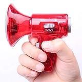 Bclaer72Smallest Voice Changer Mini Giocattolo per Bambino, Voice Changer Voice Piccolo Altoparlante megafono Effetti sonori con luci a LED in plastica