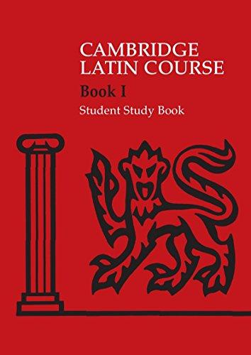 The Cambridge Latin Course. Cambridge School Classics Project. Student Study Books: Book I: Level 1