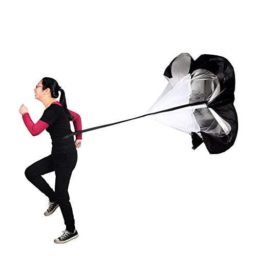 Katech Lauftraining Widerstand Regenschirm Geschwindigkeit und Agility Training Widerstands Fallschirm Sport Equipment für Fußball Power Schulung und Athletic Training
