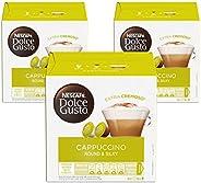 Nescafe Dolce Gusto Cappuccino Coffee Capsules (48 Capsules, 24 Cups)