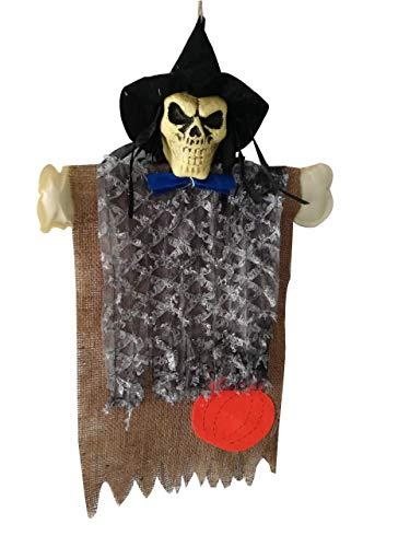 Tragbare Halloween Hängen Dekor Skeleton Hexe Vogelscheuche Dekoration für Ghost Festival Haus Bar Hausgarten Party - Umwelt Themen Kostüm