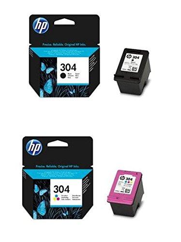 HP 304Set Black + color n9K05ae n9K06ae per HP DeskJet 37203730