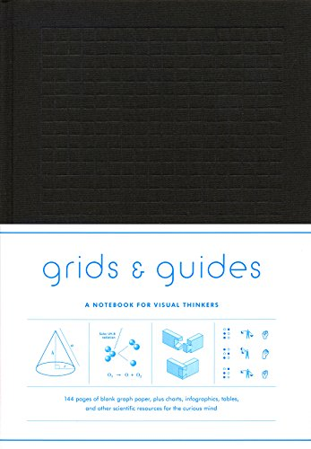 Grids & Guides (Black): A Notebook for Visual Thinkers (Princeton Architecture)