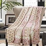 Beddingleer Tagesdecke Baumwolle Patchwork Tagesdecken für Kinder Single Bettüberwurf 150 x 200 cm Sofaüberwurf Steppdecke Sommerdecke Bettdecke Decken