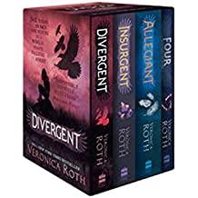 Divergent Series Boxed Set (Books 1-4): Divergent / Insurgent / Allegiant and Four