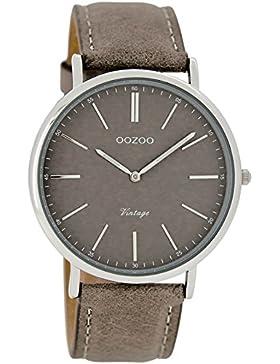 Oozoo Damen Armbanduhr Analog Quarz Leder C7331