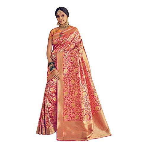 Banarasi 8167 Damen Bluse Saree indische Hochzeit Zari Sari Heavy Bluse Muslim -