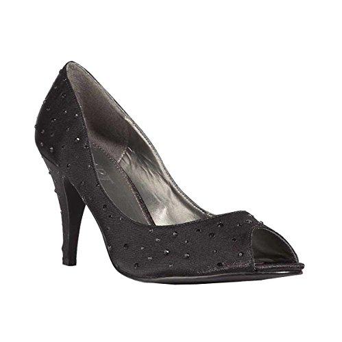 Apart , Escarpins peep-toe femme Noir - Noir