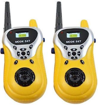 Zest 4 Toyz 2 Player Walkie Talkie Phone Toy For Little Spy Kids