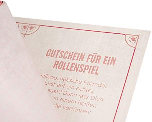 Deluxe Gutscheinheft 14 Gutscheine für Lust & Liebe, erotische Geschenkidee für Paare, Verwöhngutscheine für Sie - Bild 6