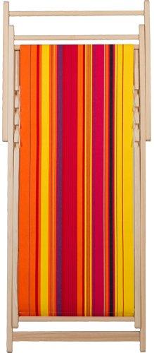 Chaise longue transat chilienne Petit Perpignan - Les Toiles du soleil