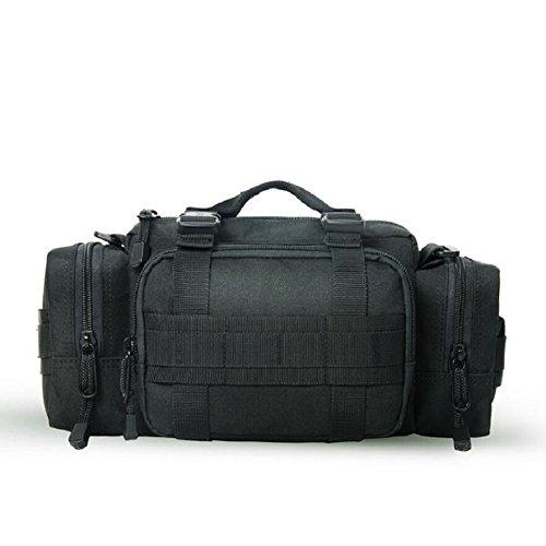 LJ&L Outdoor-Sport-Multifunktions-Taschen, Wandertour wasserdichte Kameratasche, taktische Taschen, Multifunktions-Umhängetasche, verstellbarer Riemen C