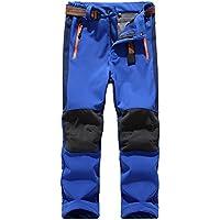 Jessie Kidden - Pantalones de esquí de nieve con forro polar y forro polar térmico impermeable con aislamiento térmico pantalones tácticos de invierno para senderismo, acampada, viajes