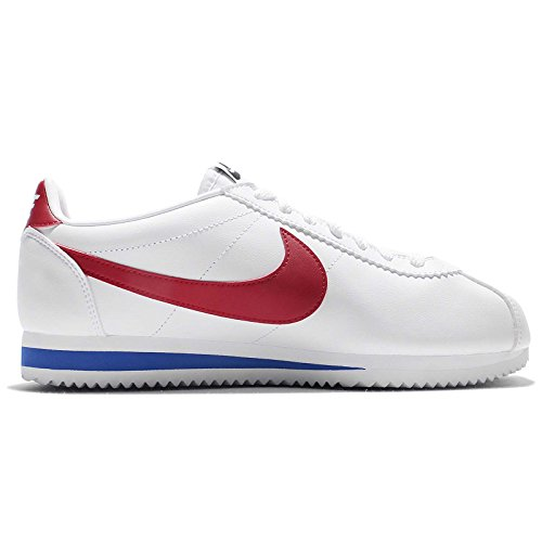 WMNS CLASSIC CORTEZ LEATHER Blanc