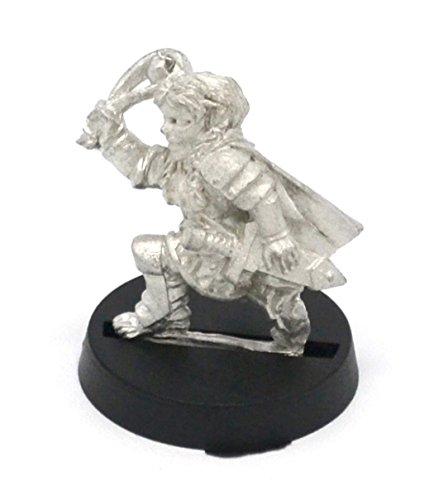Stonehaven Halfling Soldat mit Schlinge Miniaturfigur (für 28 mm große Tischspiele)