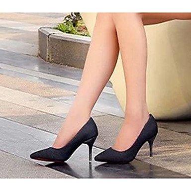 Moda Donna Sandali Sexy donna tacchi tacchi estate pu Casual Stiletto Heel altri nero / argento / Oro Altri Silver