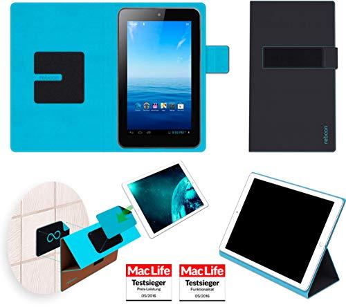 Premium 7 Tasche Cover Case Bumper | in Schwarz | Testsieger ()