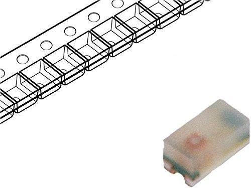 10x HSMG-C280 LED SMD 0402 green 4.5-15mcd 1x0.5x0.4mm 150° 2.2÷2.6V BROADCOM (AVAGO)