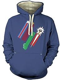 Vereinte Farben der Rache T-Shirt für Erwachsene Prämiekapuzenpullover für Erwachsene