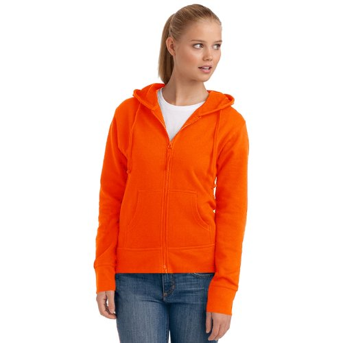 Hanes - Sweat à capuche -  Femme Orange