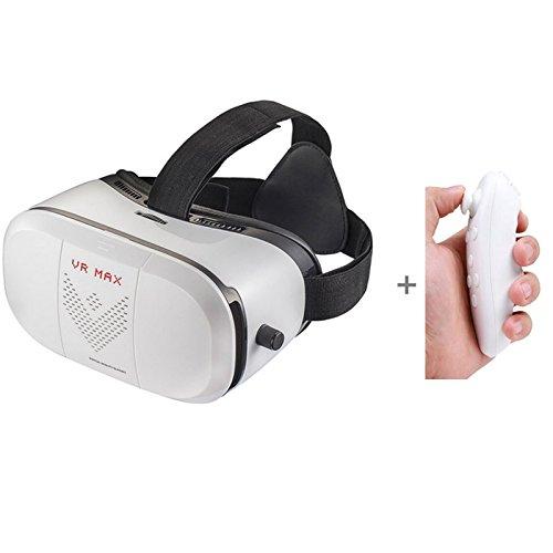 3D Virtual Reality Brille mit Bluetooth Fernbedienung (batteriebetrieben)