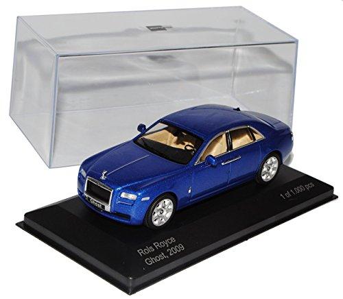 rolls-royce-ghost-limousine-blau-1-43-whitebox-modell-auto-mit-individiuellem-wunschkennzeichen