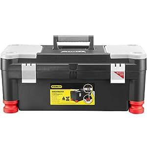 """Stanley 1-70-353 Boîte à outils Shockmaster 25""""/63 cm Noir"""