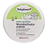 Babydream - Crema antiheridas sin perfume con óxido de zinc y pantenol y sin perfume, 2 unidades (2 x 150 ml)