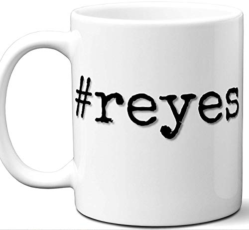 #reyes Reyes Last Name Gift. Cool Surname Mug. Unique Personalized Tea Cup Stamp Sign Family Reunion Men Women Birthday Mothers Day Fathers Day Christmas Coworker.