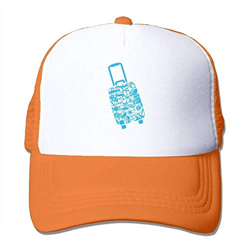 dfegyfr Kreativer Reise-Kasten-justierbarer Fernlastfahrer Sun-Hut-Maschen-Sport-Baseballmützen Multicolor70