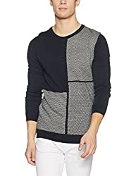 United Colors of Benetton Mens Wool Sweater (8903975472082_17A1WOLJ1036I901S_Black)