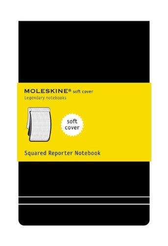 Moleskine Soft Cover Large Squared Reporter Notebook (Moleskine Srl) Reviews