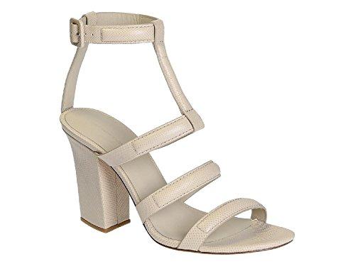 Alexander Wang high Heel Sandalen in nackt Leder - Modellnummer: 304131S13 Nackt
