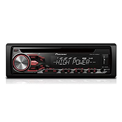 Pioneer DEH-4800FD High Power Car Stereo with RDS Tuner, USB and Aux-in. Supports iPod/iPhone Direct Control and Android