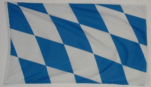 Qualité Drapeau Freistaat Bayern * * * * * * intérieur/extérieur plastique Poids env. 110 g/m²